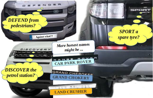 SUV Names