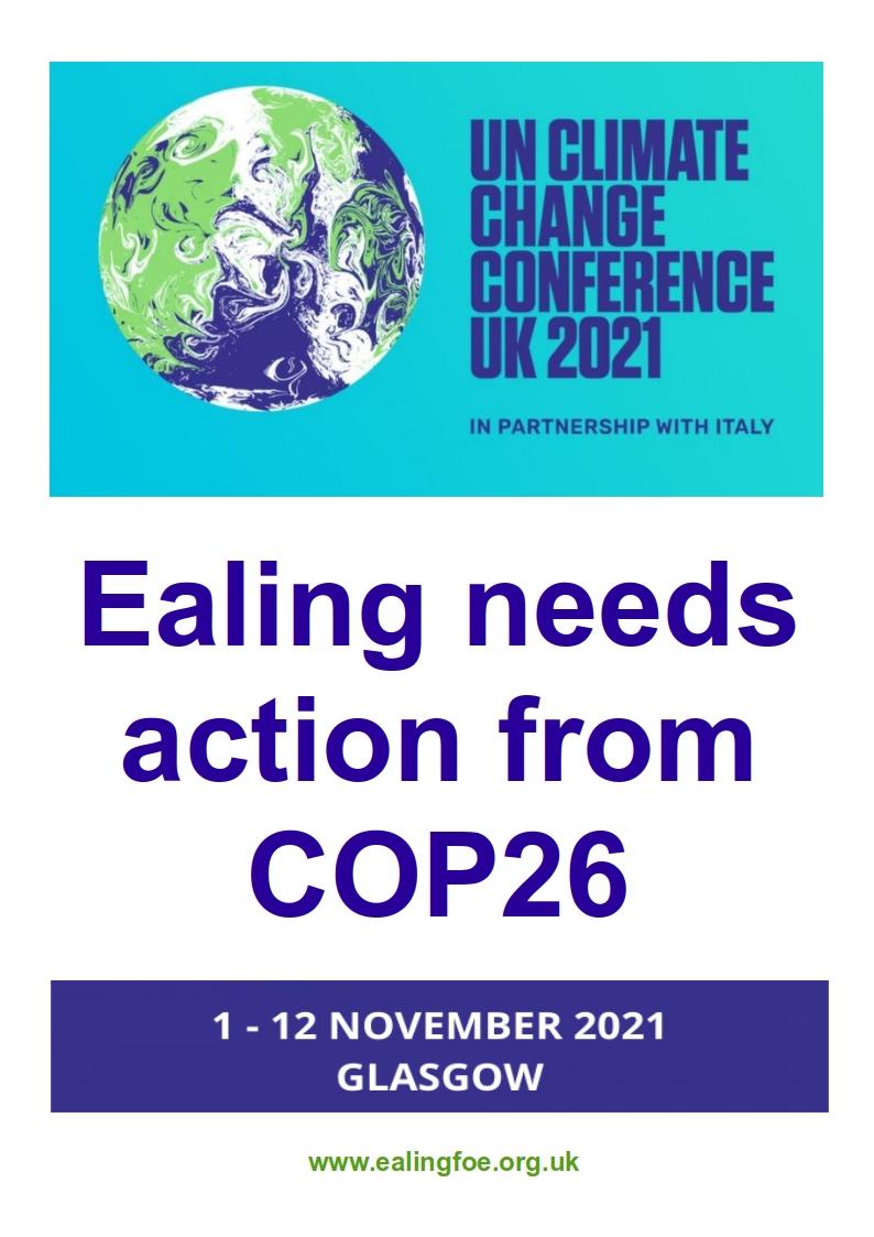 COP26 Poster