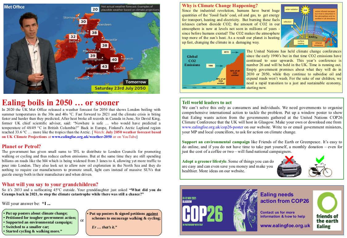 COP26 Leaflet